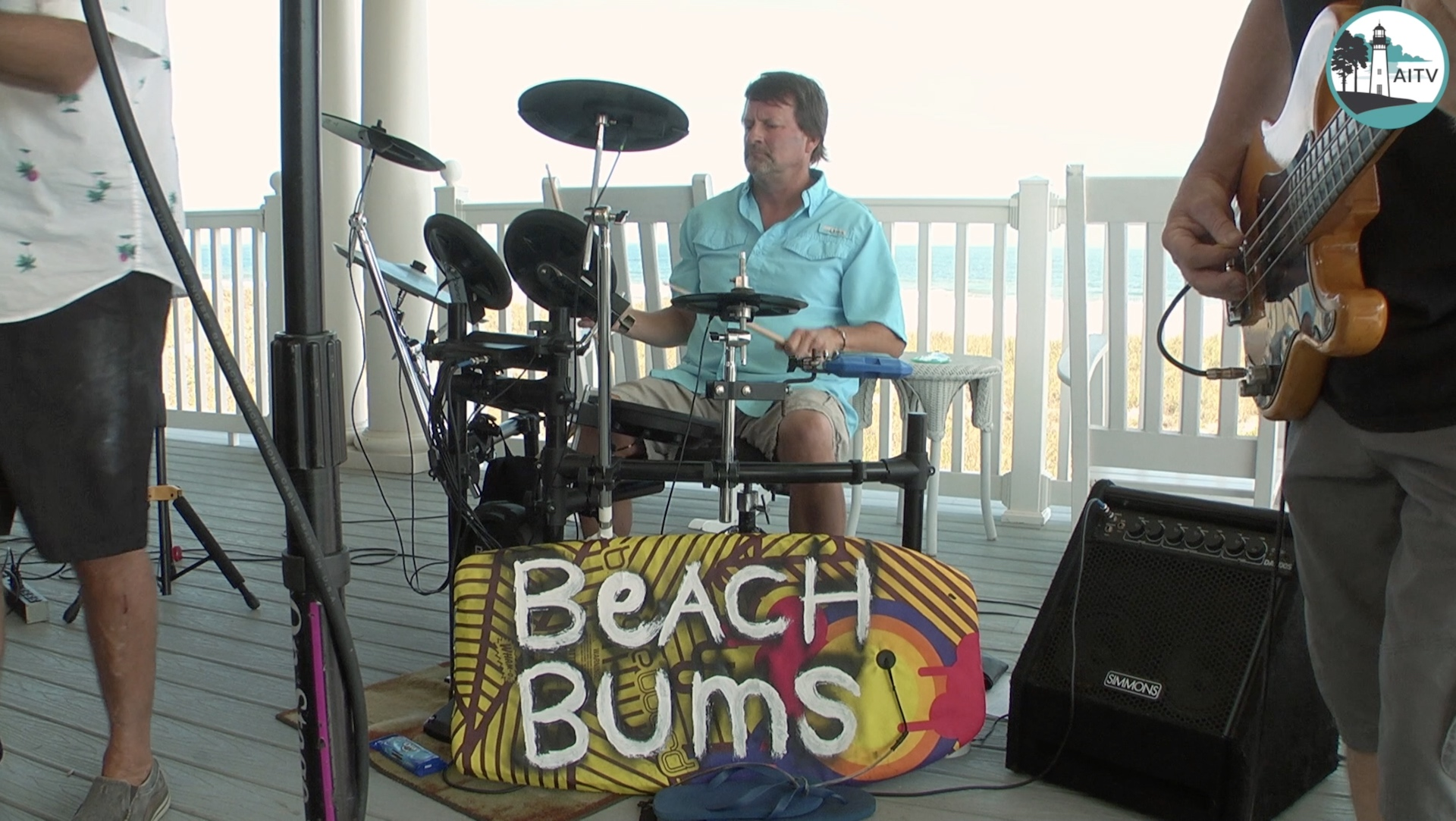 island rob and the beach bums set 1
